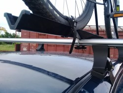 Крепление для перевозки велосипедов, металлическое