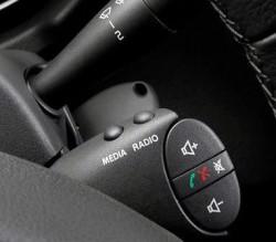 Подрулевой переключатель штатной магнитолы Лада Ларгус, Renault